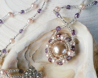Captured Pearl Necklace