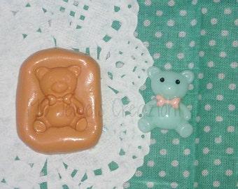 Teddy bear with bow small