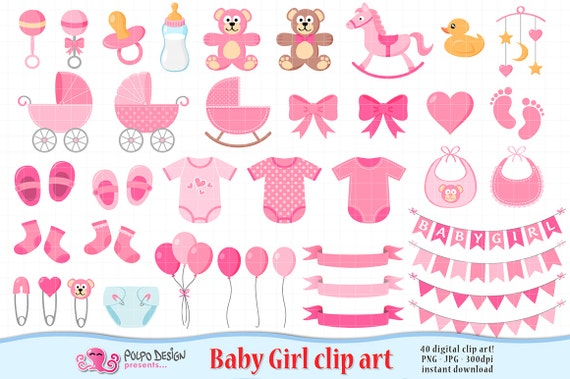 baby girl clipart its a girl clipart scrapbook baby girl clip art rh catchmyparty com baby girl clipart free baby girl clipart free download