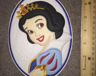 Large ready to ship Snow White patch