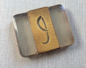 Vintage Lucite Cigarette Case