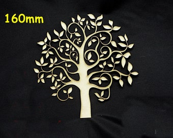 Family Tree 160mm High Quality 3mm MDF multiple pack sizes