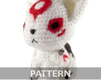 PATTERN Amaterasu Okami Amigurumi Crochet Plush PDF