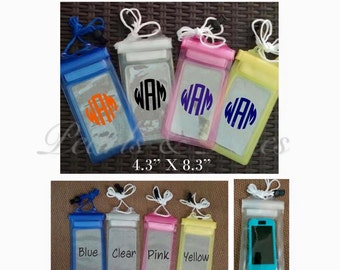 Water proof Phone Case Holders perfect for Summer...