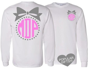 1 Long Sleeve Adult Personalized Tshirt,Southern Style Collection, Monogrammed tshirt,personalized shirt,Christmas gift,Monogram gifts