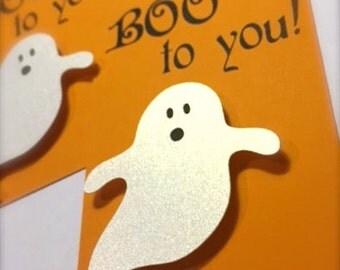 Halloween Gift Tag (Boo)