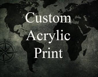 Custom Acrylic Print with Float Mount featuring Travel Photography from TheWorldExplored! - Fine Art Acrylic Print, Wall Decor, Wall Art