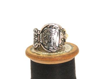 montana ring, state ring, american ring, spoon ring