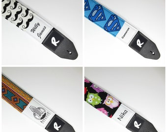 Personalized Guitar Strap - Add a name to any of our guitar straps!