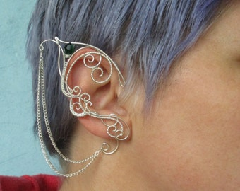Pair of elf ear cuffs Empire