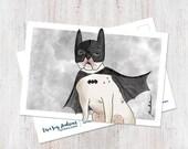 Batdog Postcard (1 Postca...