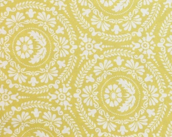 Jennifer Paganelli Figgy in Gold  Fabric One Yard 100 % cotton