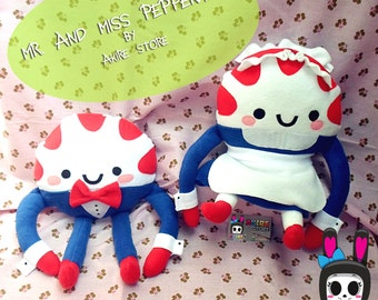ADVENTURE TIME PEPPERMINT butler boy and girl