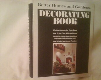 1975 better homes and gardens decorating book