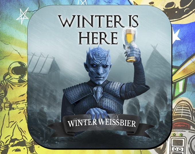 Game of Thrones  Night's King White Walker Coasters