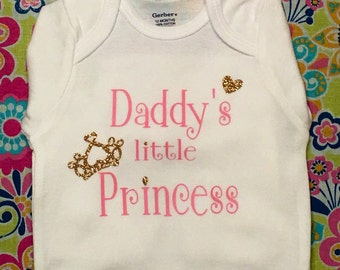 Daddy's Princess onsie