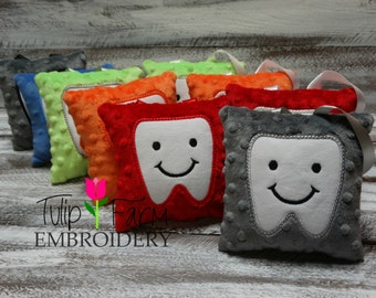 Tooth Fairy Pillow - Personalized Tooth Fairy Pillow - Tooth Fairy Pillow Boy - Custom Tooth Fairy Pillow - Appliqued Tooth Pillow