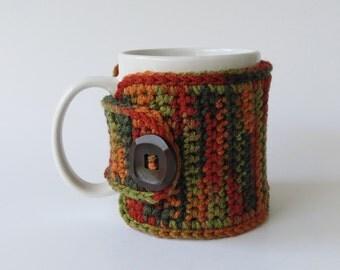 Crochet Cup Cozy, Crochet Mug Cozy, Tea Gift, Coffee Gift, Office Gift, Valentine's Day Gift