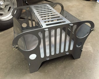 Jeep Outdoor Fire Pit Collapsible