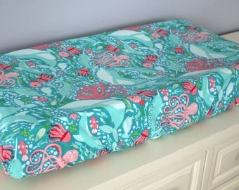 Under the Sea Standard Changing Pad Cover