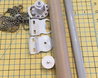 Window Shade Hardware Without Roller