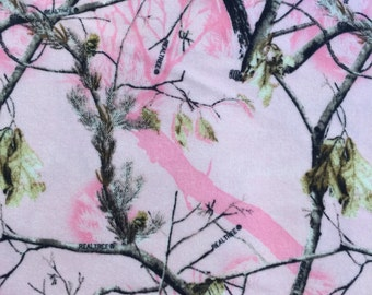 Pink Real Tree Flannel