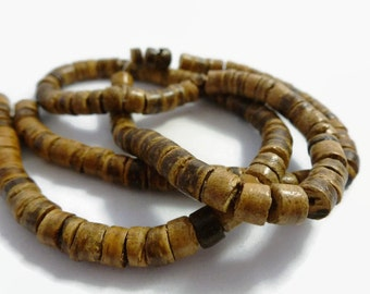 1 Strand Coconut Beads 5mm x 3mm