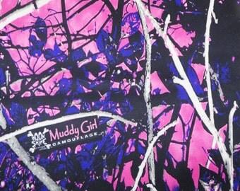 Muddy Girl Camo Bridal Satin Fabric, Camo Fabric, Bridal Satin, Wedding Fabric, Camo Dress, Camo Wedding, Purple Camo Fabric