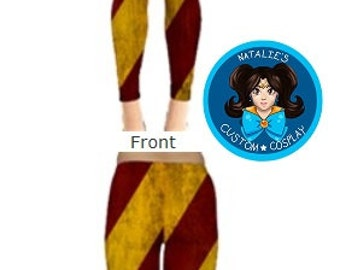 Rugged Hogwarts House Color Leggings