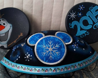 Frozen Custom Mickey Mouse Ear Hat