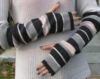 Fingerless Gloves - Typing Gloves - Merino wool - Arm warmers