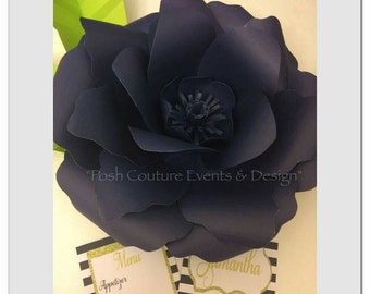 Giant Paper Rose/ Giant Flowers/ Wedding Flowers/ Gift for her/ Flower Backdrop/ Baby Shower Backdrop/ Bridal Backdrop/ Mothers Day
