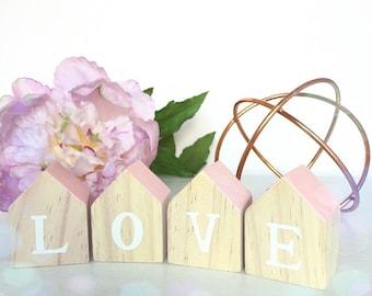 Wooden Love Block Set...