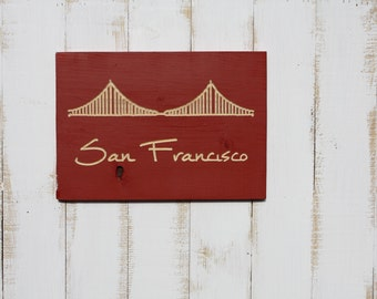 Golden Gate Bridge San Francisco Wall Art