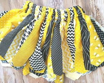 Girls Bumblebee Black and Yellow tutu