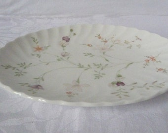 Wedgwood 'Campion' Oval Tray 7""