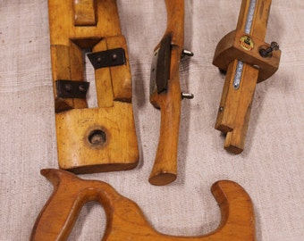 Set of 4 Famos-brand old tools, made in Germany