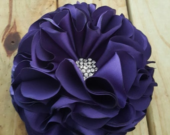 Purple Brooch, Wedding, Royalty, Prom, Mother's Day, Brooch Pin, FrancesKelseyTags