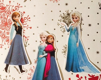 3- 4 inch Frozen Inspired Die Cuts for Scrapbooking or Request Your Theme Die Cuts