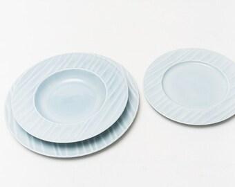"Dishes Service Ceramics, ""Hawaii"""