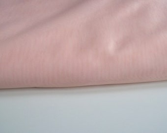 "Peach voile Fabric 135cm (54"") wide voile polyester"