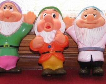 Snow White's Three Dwarves, Vintage