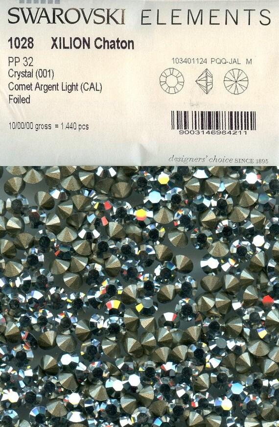 6b325cbff 1028 PP32 CC*** 30 Swarovski rhinestones point back PP32 (4,05mm ...