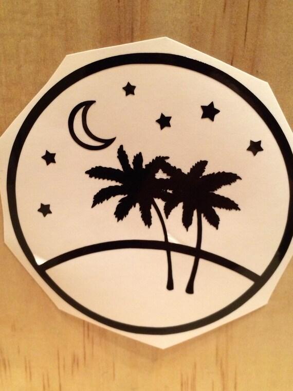 Palm Tree Decal Vinyl Stickers Laptop Decal Car Sticker