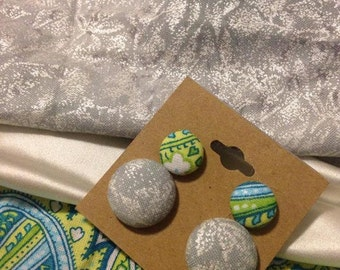 Button earring Combo Pack