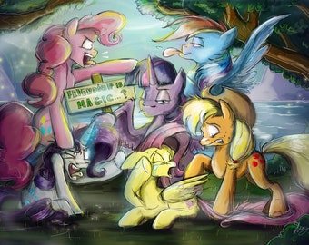 The Mane Six...Friendship is Magic?
