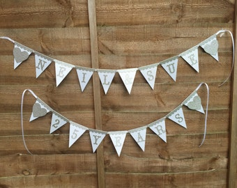 Luxury bunting for Anniversaries / Weddings
