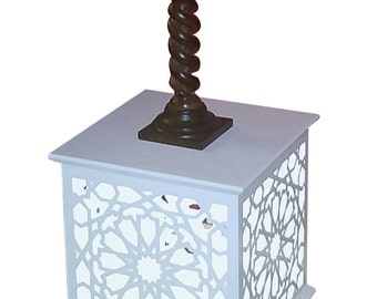 Traditional Moroccan Corner Table Lamp