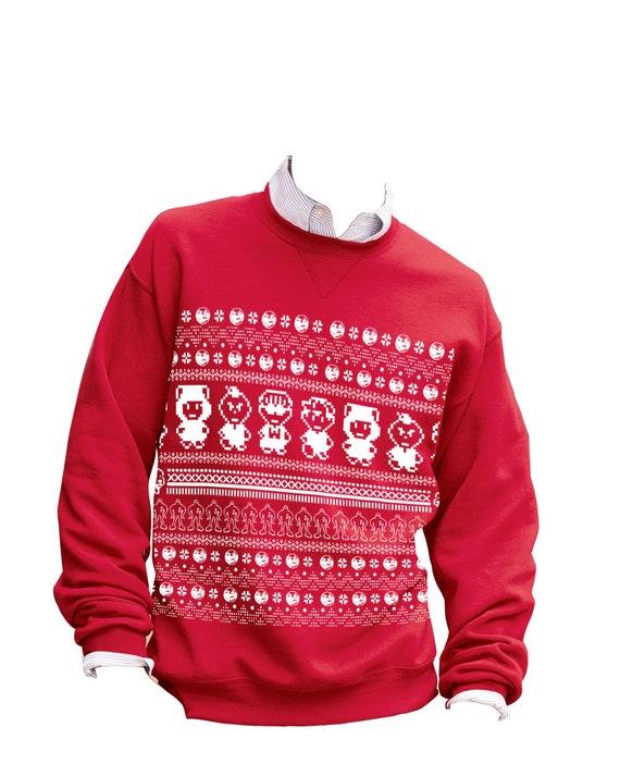 8bitevolution Earthbound Mother Ugly Christmas Sweater Sweatshirt