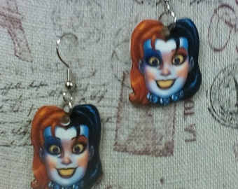 Batman's Harley Quinn Earrings